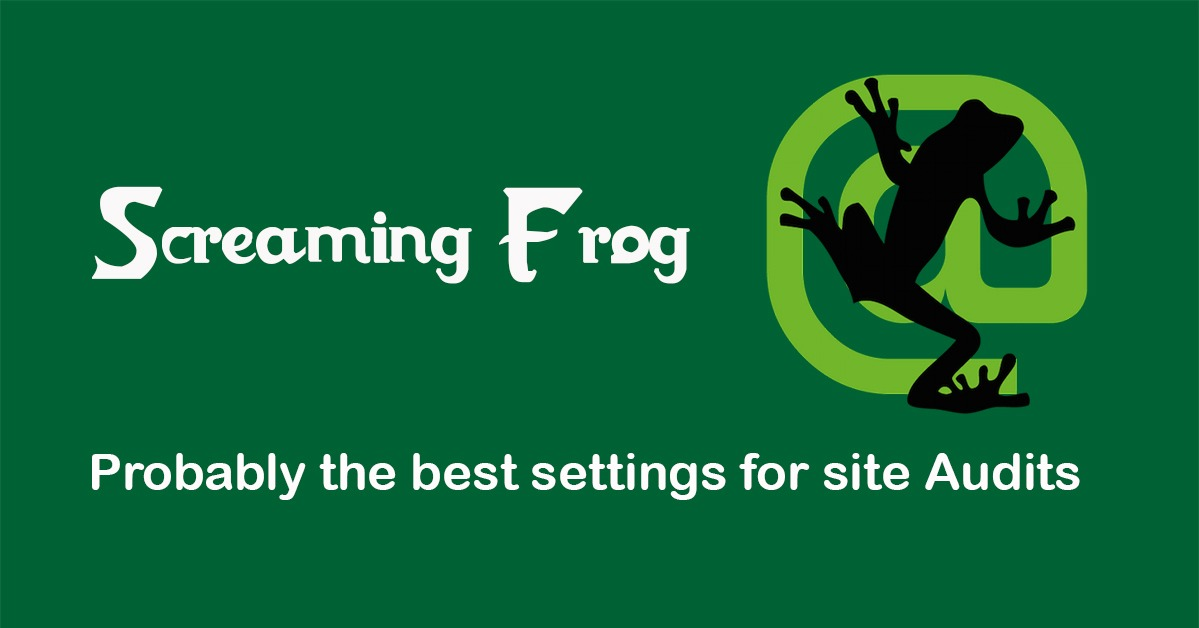 Image banner with screaming frog logo